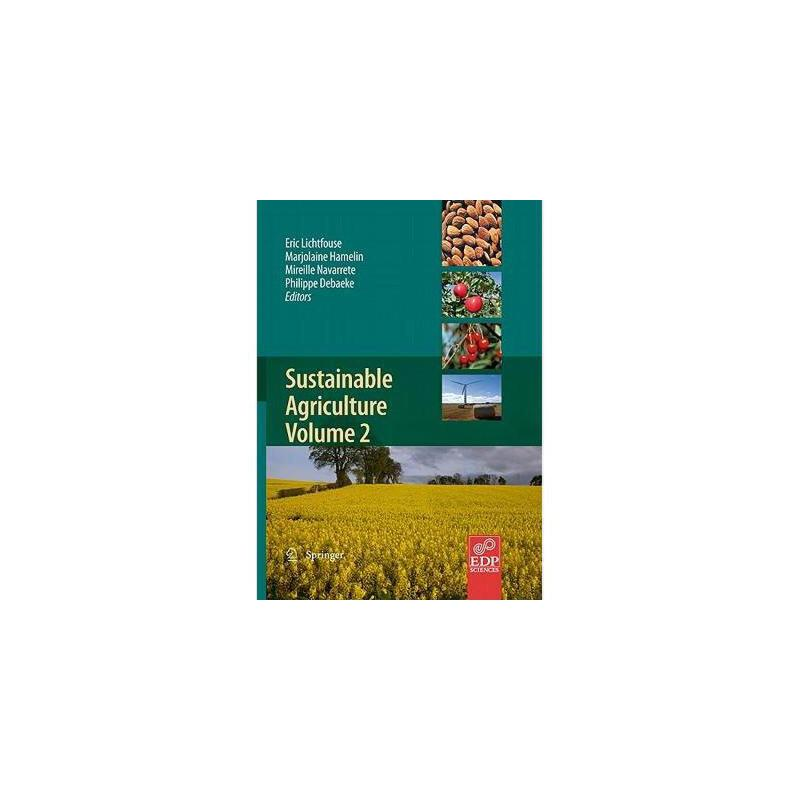 【预订】Sustainable Agriculture Volume 2 美国库房发货,通常付款后3-5周到货!