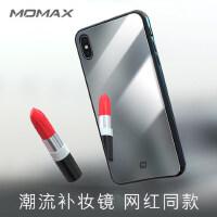 包邮支持礼品卡 Momax 摩米士 iPhoneXS 苹果iphone XS max 手机壳 6.5寸 镜子 ipho