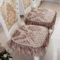 欧式餐桌椅垫套椅子坐垫客厅餐椅垫椅靠背巾