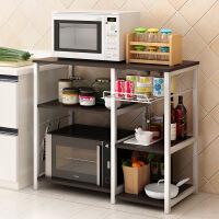门扉 厨房置物架 厨房置物架微波炉落地层架收纳储物碗柜电器多功能烤箱架
