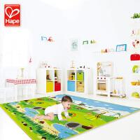 DP-会员 德国Hape宝宝爬行垫加厚婴儿环保泡沫地垫儿童防潮游戏毯爬爬