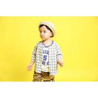 男童背心夏装薄款儿童运动篮球无袖T恤上衣小童