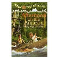 【现货】英文原版儿童书 Afternoon on the Amazon 神奇树屋6:*大冒险 文字阅读简装版 新旧版本