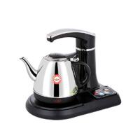 抽水壶电茶炉断电煮茶器家用自动上水电热水壶 黑色