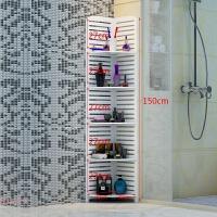 卫生间置物架浴室三角落地转角厕所墙角收纳架洗手间用品用具整理