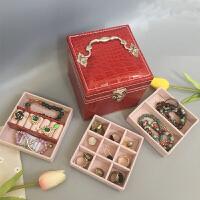 复古首饰盒欧式小号饰品盒公主简约收纳盒手饰盒珠宝盒化妆盒礼品