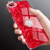苹果6手机壳女款iphone6s玻璃水钻6plus仙女全包保护壳