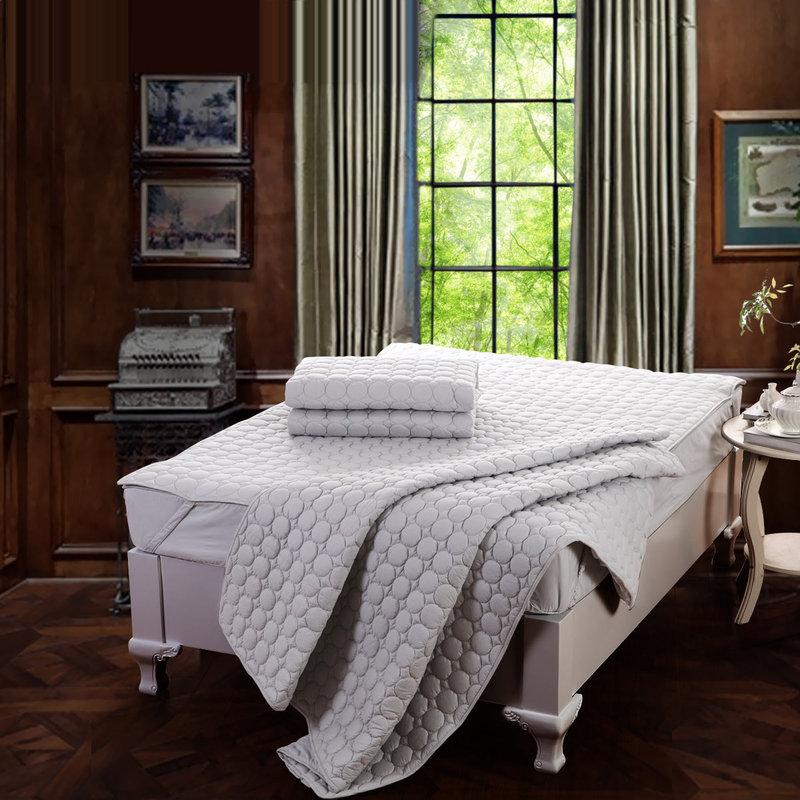 水星家纺床垫床褥防滑学生宿舍保暖单双人褥子舒柔床垫