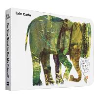 英文原版绘本 廖彩杏书单 卡爷爷Eric Carle:Do You Want to be My Friend 你想和我