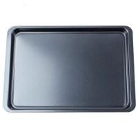 烘焙工具 长方形烤盘 家用烤箱用品 蛋糕模具 (浅)曲奇盘 碳钢不粘长形蛋糕烤盘