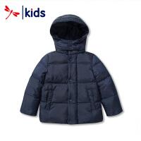 红蜻蜓儿童2018新款冬季男童女童羽绒服短款保暖外套韩版时尚童装
