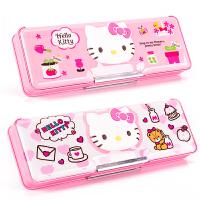 Hellokitty凯蒂猫文具盒女小学生文具用品女孩铅笔盒文具盒收纳盒创意塑料可爱多功能网红抖音文具盒
