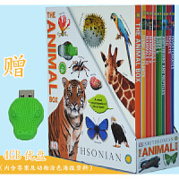 DK动物知识百科图解  DK The Animal Box 精装10册礼盒装 赠4G的U盘 内含测试题 科普读物