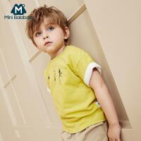 【129选3件】迷你巴拉巴拉男童短袖T恤年夏装新款宝宝纯棉打底衫t恤