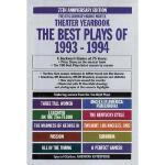 【预订】The Best Plays of 1993-1994