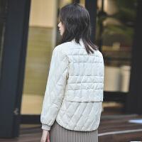 轻薄羽绒服女时尚轻短款小个子秋冬显瘦修身羽绒外套冬季学生保暖