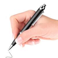 【当当热销】新版无声无光JNN 笔形16G录音笔微型迷你专业高清自动降噪学生写字记录笔超长待机 黑色