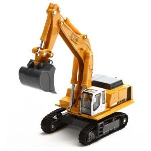 [当当自营]siku 德国仕高 1:87 利勃海尔挖掘机 合金车模玩具 U1874
