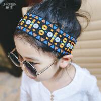 儿童发饰头饰发夹i韩版时尚饰品休闲松紧套头束发带宝宝女童发卡