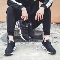 新款男鞋夏季透气休闲运动鞋飞织网鞋透气韩版潮流气垫跑步鞋
