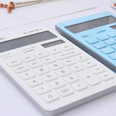 计算器可爱糖果色办公用太阳能迷你学生用
