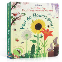 英文原版 ift-the-flap Questions and Answers How do Flowers grow?