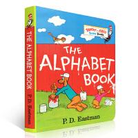 英文原版绘本 The Alphabet Book 字母表 纸板书 Bright and Early Board 苏斯博