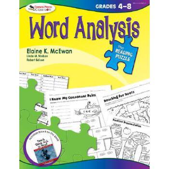 【预订】The Reading Puzzle: Word Analysis, Grades 4-8 预订商品,需要1-3个月发货,非质量问题不接受退换货。