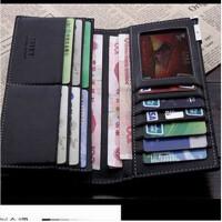 新款男士钱包时尚钱夹长款多功能皮夹