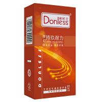 多乐士避孕套新梦幻持玖耐力系列1盒 安全套共12只(进口版)首款物理延时 平滑 成人用品