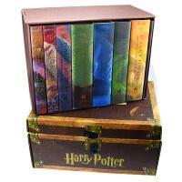 【现货】英文原版 哈利・波特1-7全集套装 豪华精装礼盒收藏版 J.K.罗琳 Harry Potter Hardcov