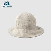 【2件3.8折】迷你巴拉巴拉男女童渔夫帽盆帽2019夏季新款遮阳帽太阳帽儿童帽子