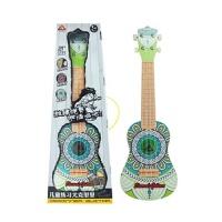 儿童早教乐器21寸尤克里里仿真吉他可弹奏四弦吉他初学者玩具 180古典印花