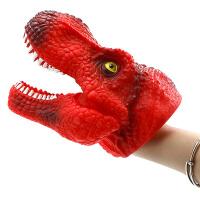 霸王龙恐龙手偶手套动物头玩具嘴巴任意变形儿童玩具恐龙