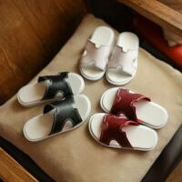 夏季新款儿童凉拖百搭沙滩鞋露趾休闲凉鞋男女童一字拖鞋