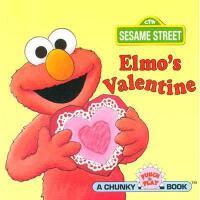 【现货】Elmo's Valentine (Sesame Street) 英文原版 芝麻街:阿莫的情人节 迷你纸板书