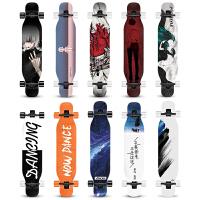 韩国双翘板公路四轮滑板车长板滑板男女生初学者刷街