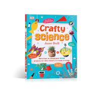 巧妙的科学 DK Crafty Science 奇妙的科学英文原版图鉴/图解 10-14岁中学生课外扩展阅读 工具书&词