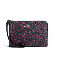 【当当自营】蔻驰(COACH)新款碎花女士钱包卡包手拿钱包女零钱包  F59551