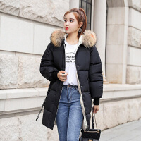 【满2件6折】茉蒂菲莉 棉服 女士短款连帽冬季新款韩版上衣休闲潮棉衣外套女式学生修身时尚女装