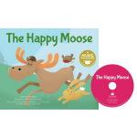 英文原版 Cantata Learning: The Happy Moose 书+CD 歌谣学英文 STEM教育绘本
