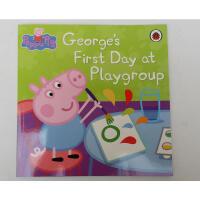 英文原版 peppa pig:George's First Day at Playgroup去幼儿园
