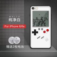 20180923213430101抖音同款苹果6s手机壳iphone7plus俄罗斯方块游戏机8p复古网红x套