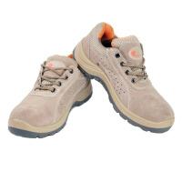 谋福 夏季男款K0102钢包头透气电焊安全劳保工作鞋防滑 防砸/耐油/防滑
