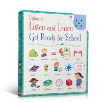 顺丰包邮 英文原版进口 Usborne英语单词发声书 Listen and Learn Get Ready for S