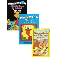 儿童英文绘本I Can Read系列 Morris幽默爆笑2册合售绘本分级读物
