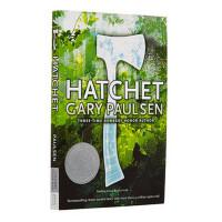 【现货】英文原版 手斧男孩 Hatchet 10-14岁适读 纽伯瑞奖 平装版 假期读物推荐