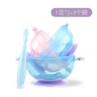 硅胶软头勺喂水辅食勺儿童餐具汤软勺婴儿勺子宝宝