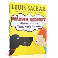 英文原版进口书Marvin Redpost: Alone in Teachers House英文绘本