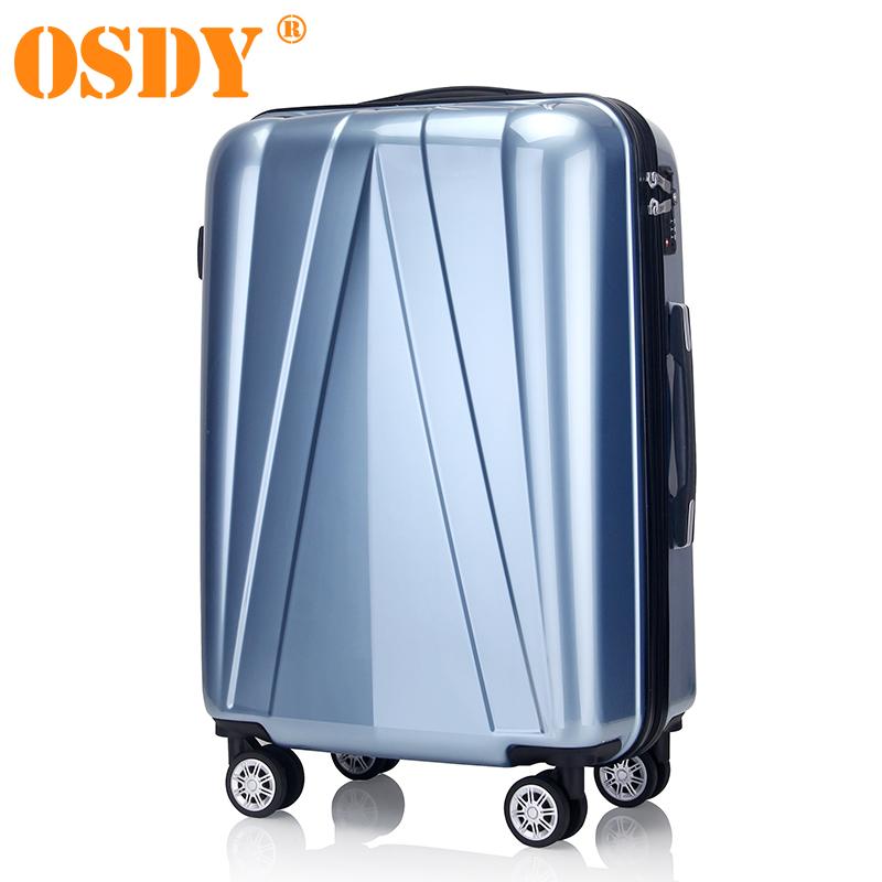 【支持礼品卡支付】20寸 OSDY品牌 A917 登机箱 拉杆箱  行李箱 静音万向轮  耐压ABS+PC材质个性的外观埃菲尔铁塔的设计灵感